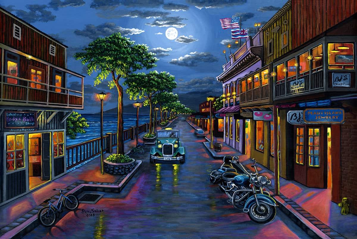 Ben Saber Front Street Moon