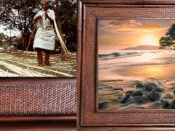 Free Flow Hawaii Rattan Frame