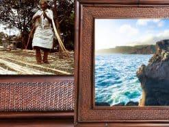 I heart MauiHawaii Rattan Frame