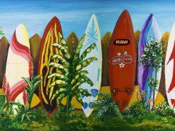 JM Surfboard Fence