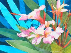 KNN Pink Plumeria
