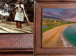 Kaanapali Dream Hawaii Rattan Frame