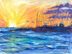 MR Breakwall Lahaina 12x16