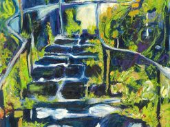 MR Jungle Steps Cave (Hana) 16x12