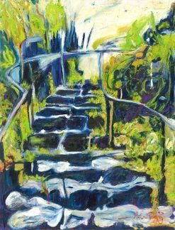MR Jungle Steps Cave (Hana) 16x12