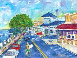 MR Lahaina Town 12x16