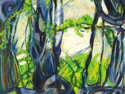 MR Nature Takes Back (Old Maui High - Haiku) 16x12