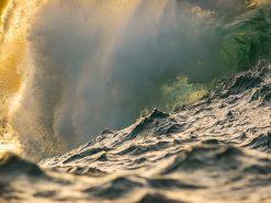Peahi Glow Wave photograph by scott hareland