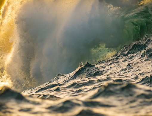 Peahi Glow Wave photograph by scott hareland