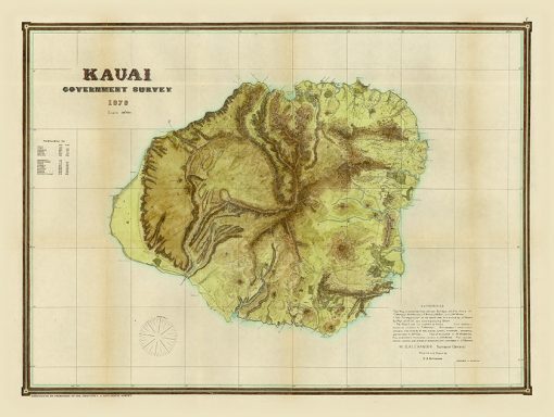 1878 Alexander USGS Kauai