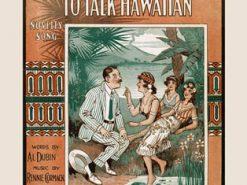 Aloha O'brien Is Trying to Talk Hawaiian