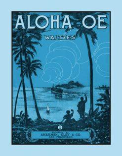 Aloha Oe Blue