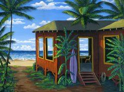 BS Hawaiian Beach Cabin Day