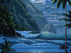 BS Hawaiian Beach Moon