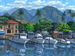 BS Lahaina Harbor Morning