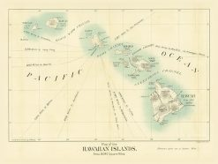 1898 Binger (Friedenwald Co) Hawaiian Islands
