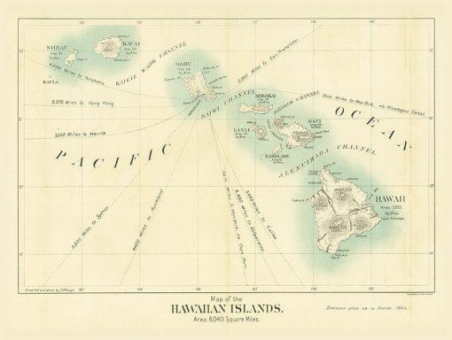 1898 Binger (Friedenwald Co) Hawaiian Islands