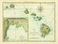 1785 French Ed. Bonne Sandwich Isles