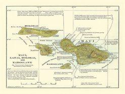 1899 Bormay & Company, Harpers Weekly, Maui Co