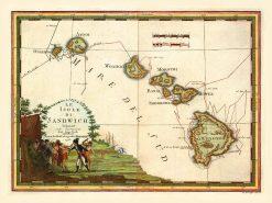 1798 Cassini Sandwich Isles
