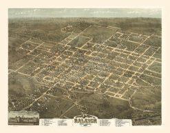 1872 Drie Raleigh