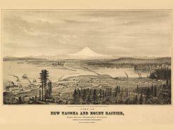 1878 Glover Tacoma & Mt Rainier