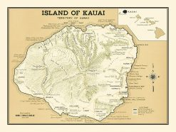 1939 Hawaii Visitors Bureau Kauai