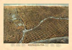 1872 Holzapfel & Eskuche Milwaukee