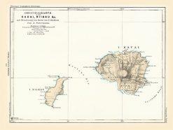 1878 Perthes (Peterman) Kauai & Niihau