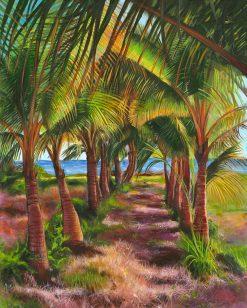 RP Path Through Palms