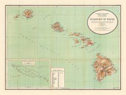 1921 USDI Territory of Hawaii