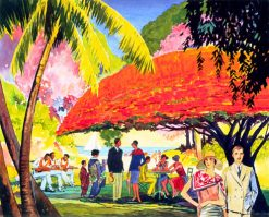 Under the Poinciana