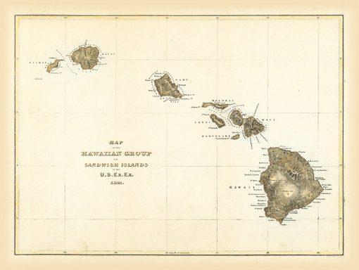 1844 Wilkes Hawaiian Group
