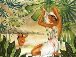 Bathing Wahine
