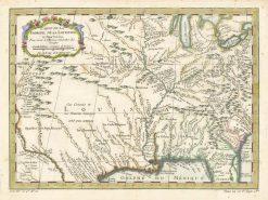 1757 Bellin Florida & Lousiana