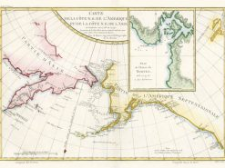 1759 Bellin NW America to NE Asia