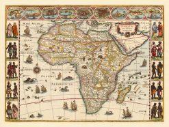 1634 Blaeu Africa