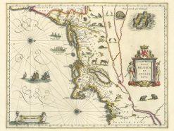 1630 Blaeu New England
