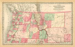 1868 Colton OR, WA, ID, MO &BC