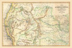 1857 Colton Capt Bonneville's Adventures (Rocky Mountains)
