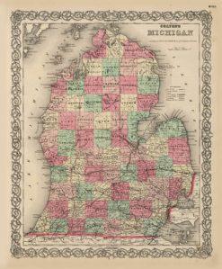 1869 Colton Michigan