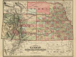 1875 Everts Kansas, Nebraska & Colorado