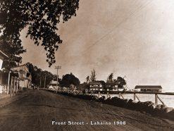 Front Street - Lahaina 1908