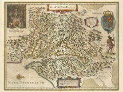 1630 Hondius Virginia