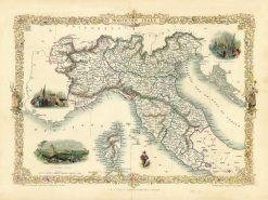 1851 Tallis Northern Italy