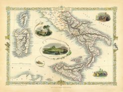 1851 Tallis Southern Italy