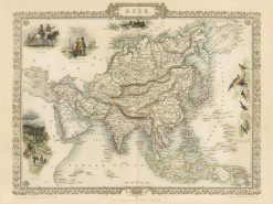 1851 Tallis Asia