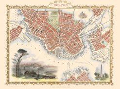 1850 John Tallis Boston