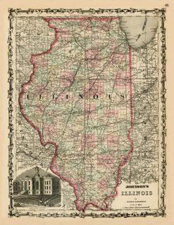 1861 Johnson Illinois