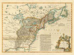 1755 Lodge (Gentlemans Magazine) British & French Settlements